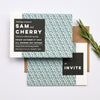 Modern personalised Wedding Invitation | Tribe