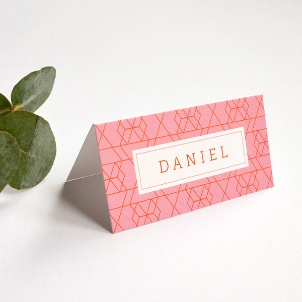 Personalised Wedding Place Cards | Vivid