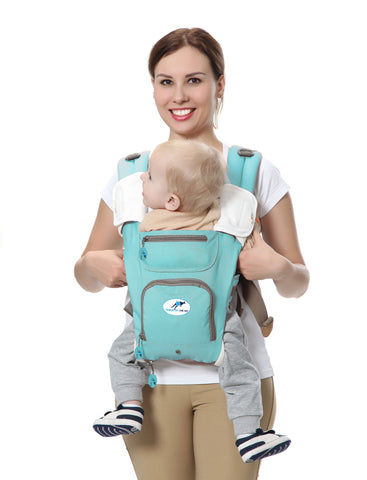 Multifunctional Baby Carrier 8 in 1 Hip Seat & Kangaroo, 360°  – age 3 – 36 month