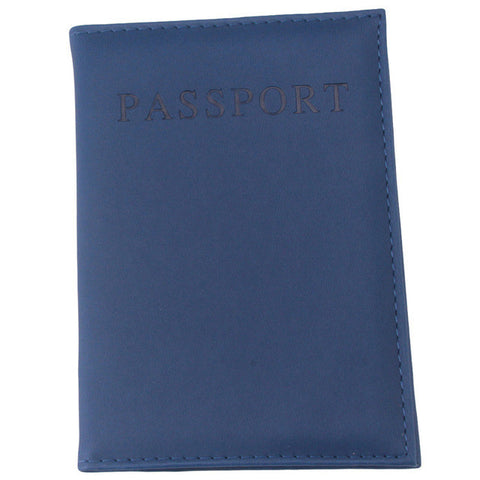 Leather Travel Passport Cover