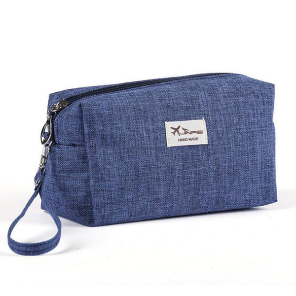 Canvas Women Toiletry Bag For Travel