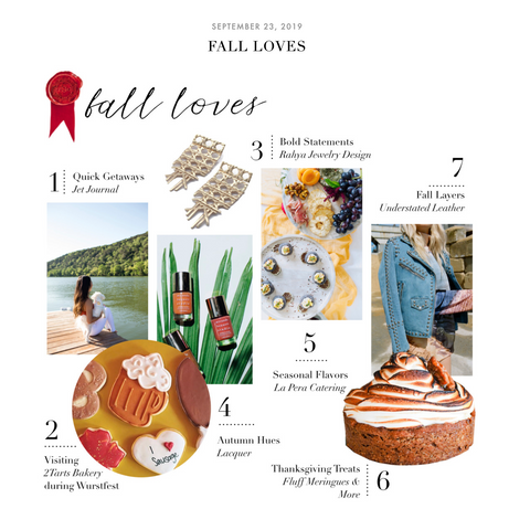RAHYA JEWELRY DESIGN THE SCOUT GUIDE AUSTIN FALL LOVES