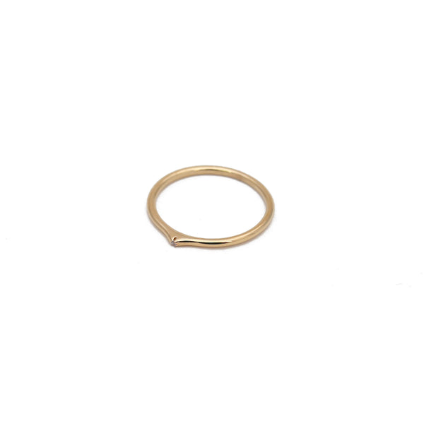 Ace Stacking Ring in Gold