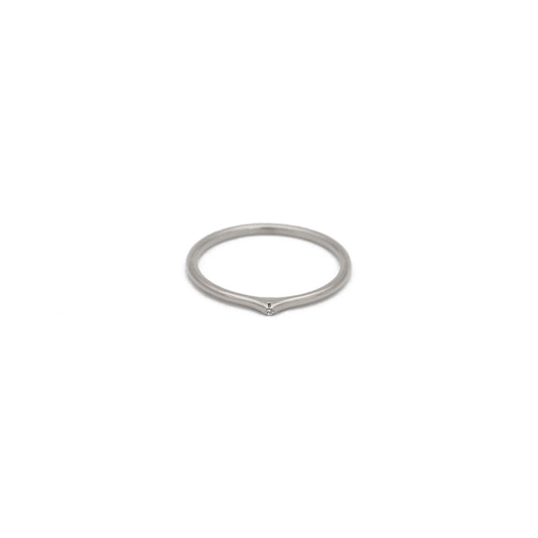 Ace Stacking Ring in Silver