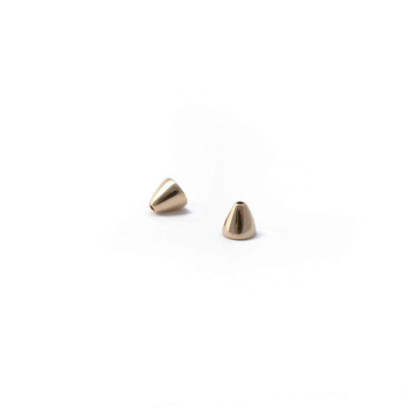 Ellie Woven Statement Earrings in Gold