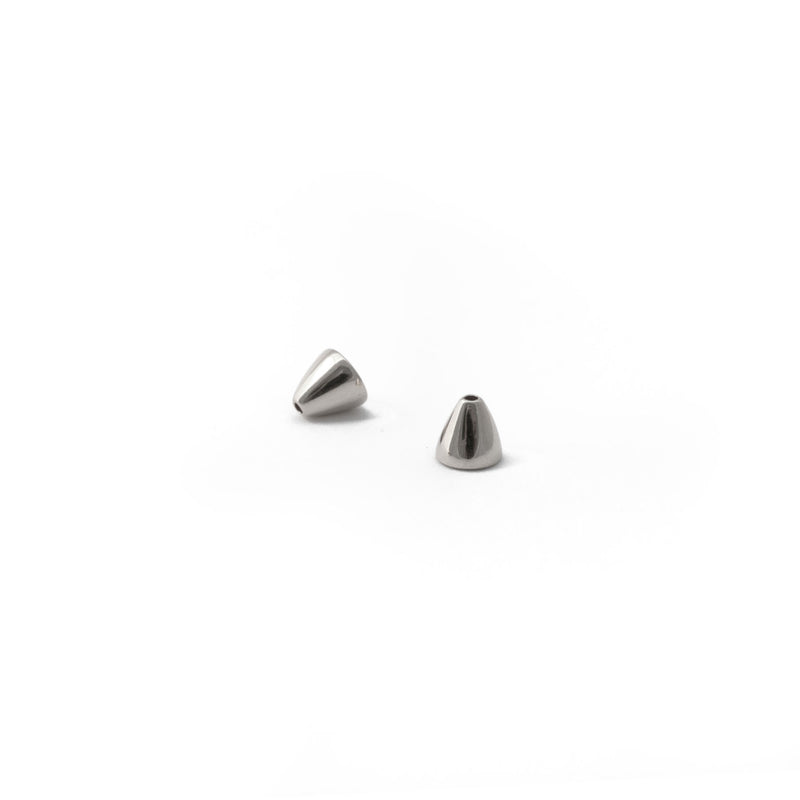 Ellie Woven Statement Earrings in Silver