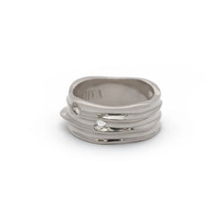 Fragment Ring in Silver