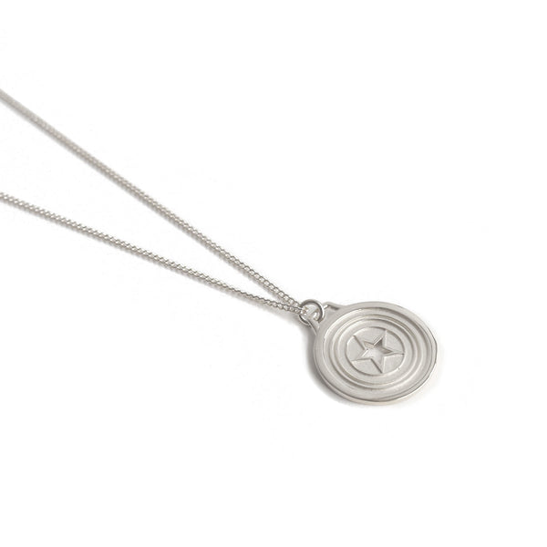 GEN Pendant Necklace in Silver