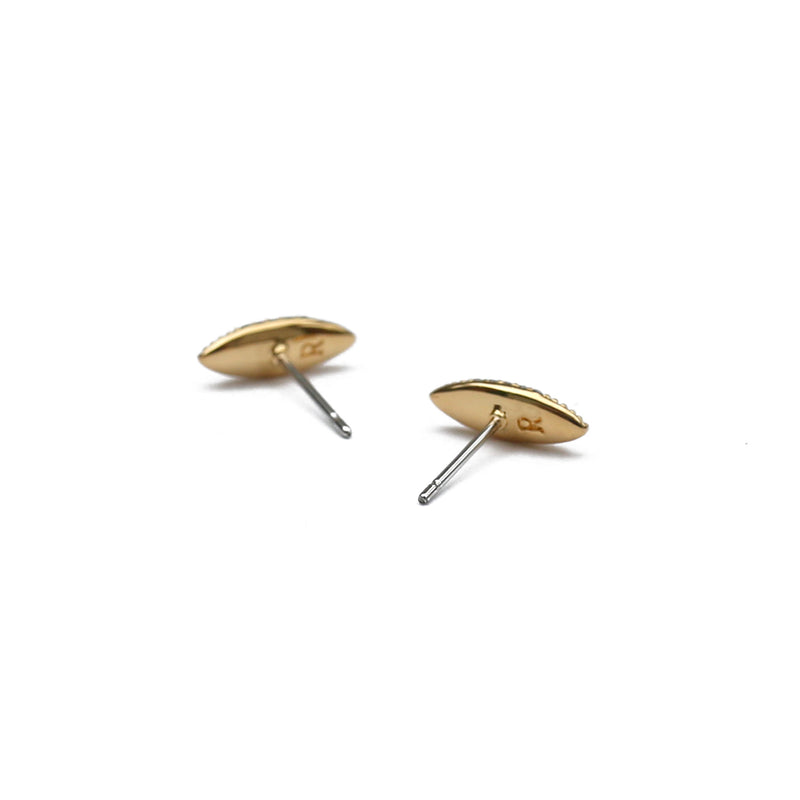 Luna Stud Earrings in Gold
