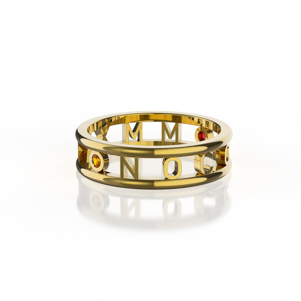 NOCCA Class Ring 14k Solid Gold