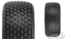 "Load image into Gallery viewer, 10153-02 HOOSIER G60 SC 2.2""/3.0"" M3 (SOFT) DIRT OVAL SC MOD TIRES FOR SC TRUCKS (F/R)"