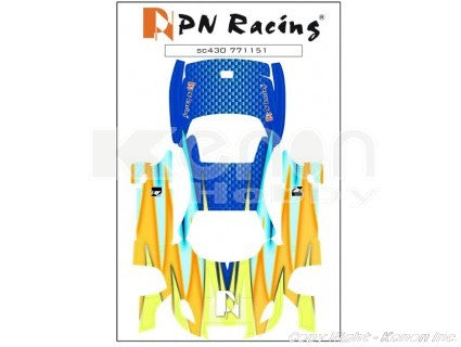 771151 MINI Z BODY SKIN LEXUS SC430 TYPE 1