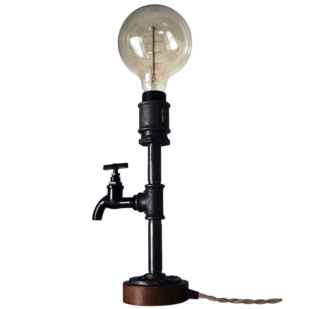pipe & tap table lamp