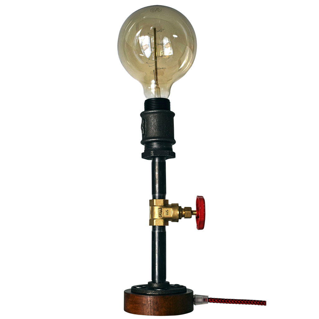 vane & pipe table lamp