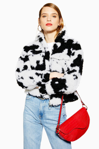 Cow print fashion trend