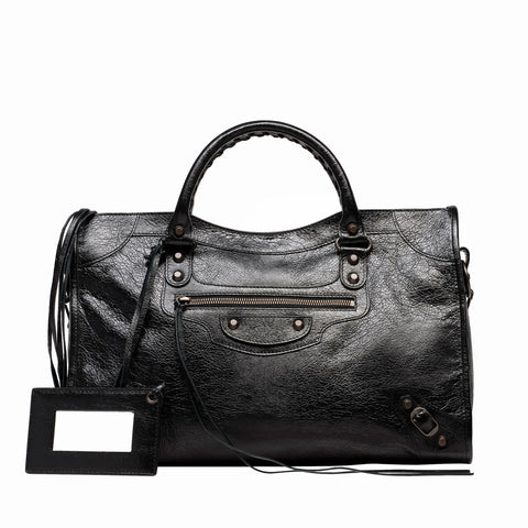Balenziaga city Bag Black