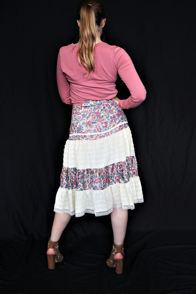 Patchwork Boho Skirt