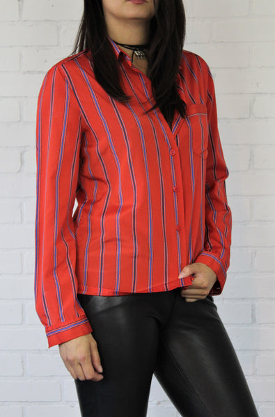 Striped Red Shirt