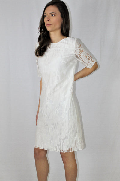 St-Emile White Dress