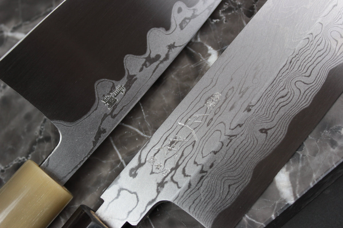 Damascus Carbon Steel