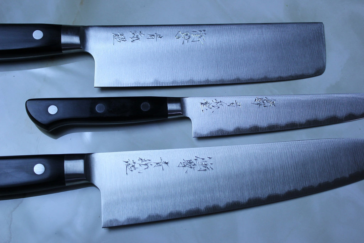 jck deep impact aogami super series blue super steel knife