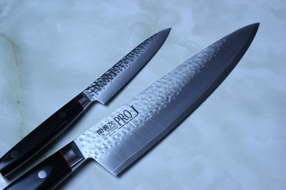 kanetsugu pro j series za 18 steel kitchen knives