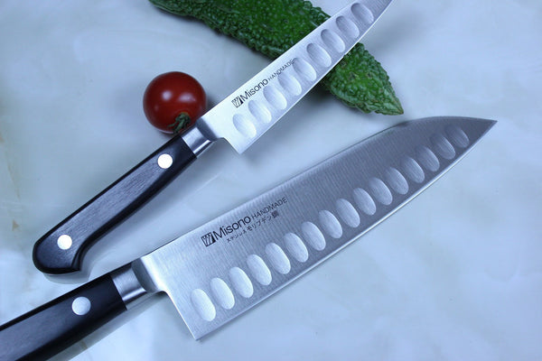 Misono Molybdenum Steel with Dimples Series