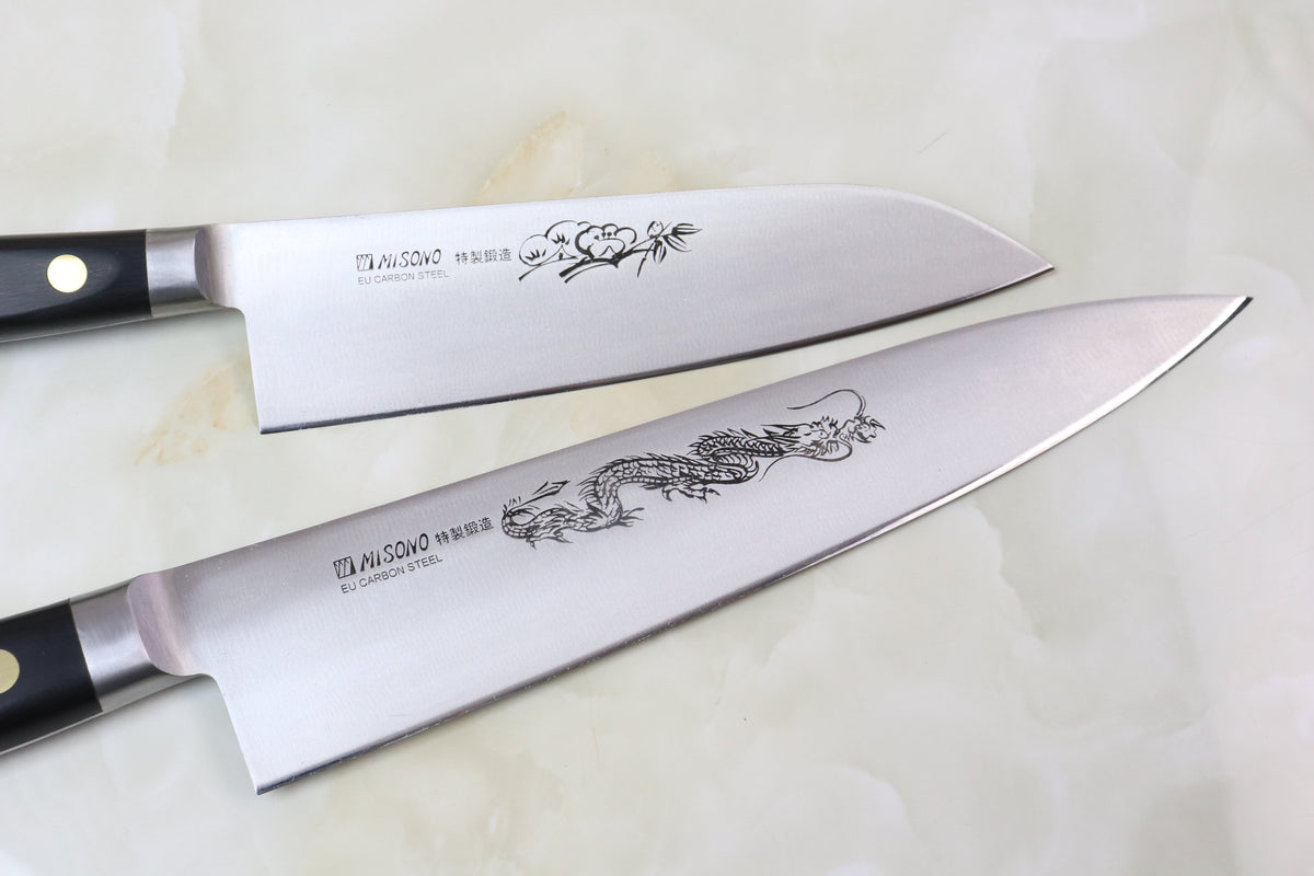 misono sweden steel series forged carbon steel made using a very pure swedish high carbon tool steel each knife in the misono swedish steel series is very carefully hand forged to create a masterpiece