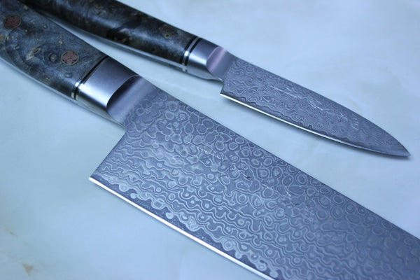 Shiki 黒龍 Black Dragon Series | VG-10 Nickel Damascus