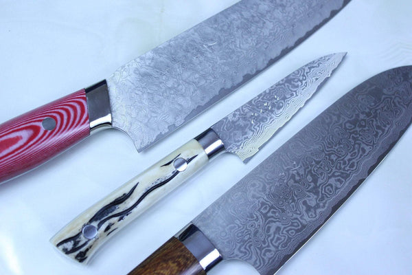 Saji R-2 Custom Damascus Wild Series