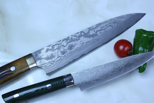 Saji VG-10 Custom Damascus Wild Series