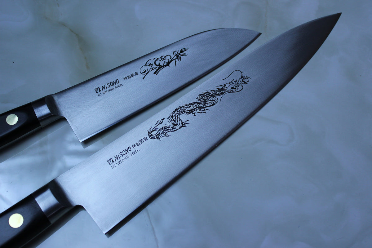 Misono Has A Line Of Kitchen Knives Made Of Swedish Steel, But They Donu0027t  Open Which Swedish Steel They Use (Sandvic Or Uddeholm?)
