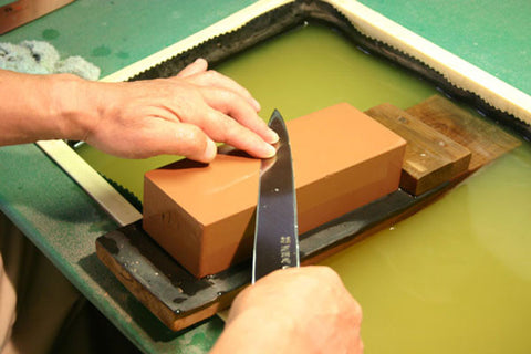 how to sharpen hand sharpening process with whetstone