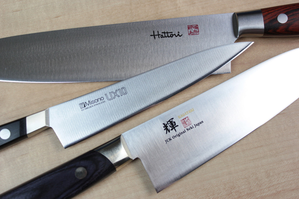Western Style Knives From JapaneseChefsKnife.Com