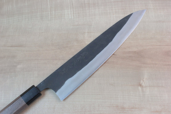 Fu-Rin-Ka-Zan Aogami Super Kurouchi Series FAB-7W Wa Gyuto 240mm (9.4 inch, Walnutwood Handle) - JapaneseChefsKnife.Com