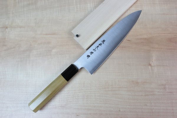Fu-Rin-Ka-Zan R-2 Clad Wa Series Wa Gyuto (210mm to 270mm, 3 sizes) - JapaneseChefsKnife.Com