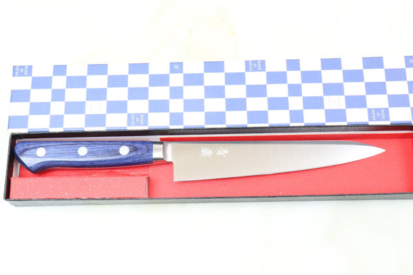JCK Natures Blue Clouds AUS-8 Basic Series BCA-2 Petty 150mm (5.9 inch) - JapaneseChefsKnife.Com