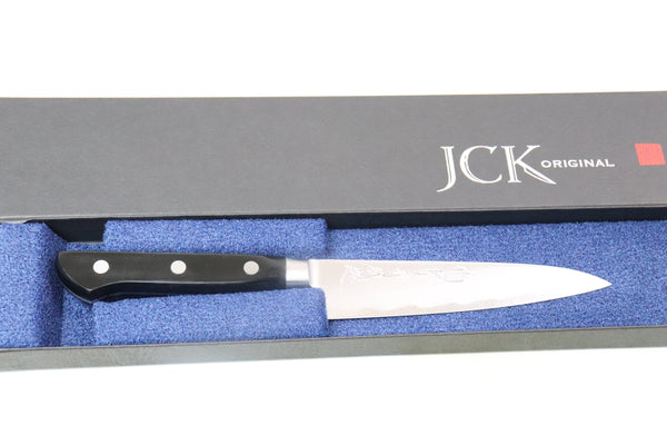 JCK Natures Deep Impact Series Petty (120mm and 150mm, 2 sizes) - JapaneseChefsKnife.Com