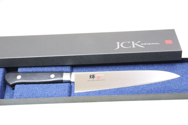 JCK Original Kagayaki Basic Series Gyuto (180mm to 270mm, 4 sizes) - JapaneseChefsKnife.Com
