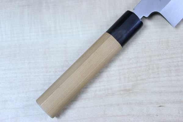 Masamoto Kiritsuke Masamoto HS Series Honyaki White Steel No.2 Kiritsuke Single Bevel Edge (240mm and 270mm, 2 sizes)