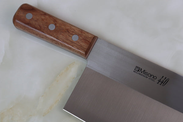 Misono 440 Series No.82 Chinese Cleaver (Narrower Blade Width Version, 8.6 inch) - JapaneseChefsKnife.Com