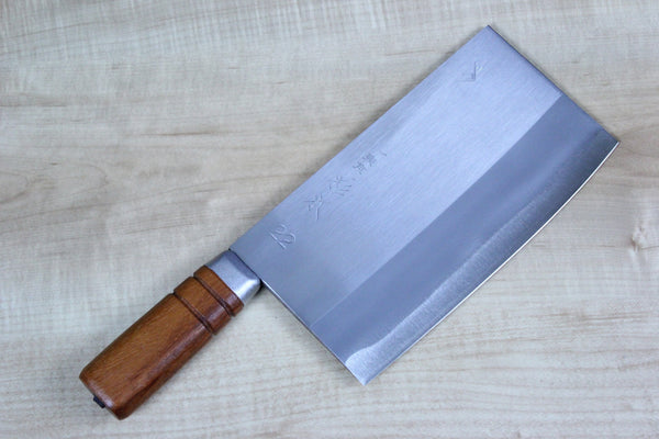 Sugimoto Virgin Carbon Steel No.22 Chinese Cleaver 200mm (7.8inch) - JapaneseChefsKnife.Com