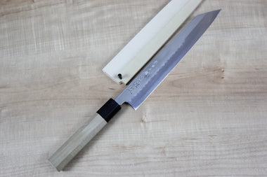 Sukenari Kiritsuke Sukenari Honyaki Series White Steel No.1 Kiritsuke (240mm and 270mm, 2 sizes)