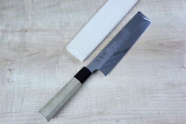 Sukenari Usuba Sukenari Honyaki Series White Steel No.1 Usuba (195mm and 210mm, 2 sizes)