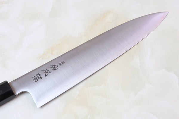 Sukenari ZDP-189 Wa Series Wa Gyuto (210mm to 270mm, 3 sizes, Octagon Shaped Magnolia Wooden Handle) - JapaneseChefsKnife.Com