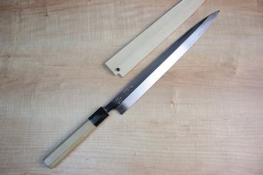 Sukenari Yanagiba SH-4A Yanagiba 330mm (12.9 inch) / Right Handed Sukenari Honyaki Series White Steel No.1 Yanagiba 330mm (12.9 inch)