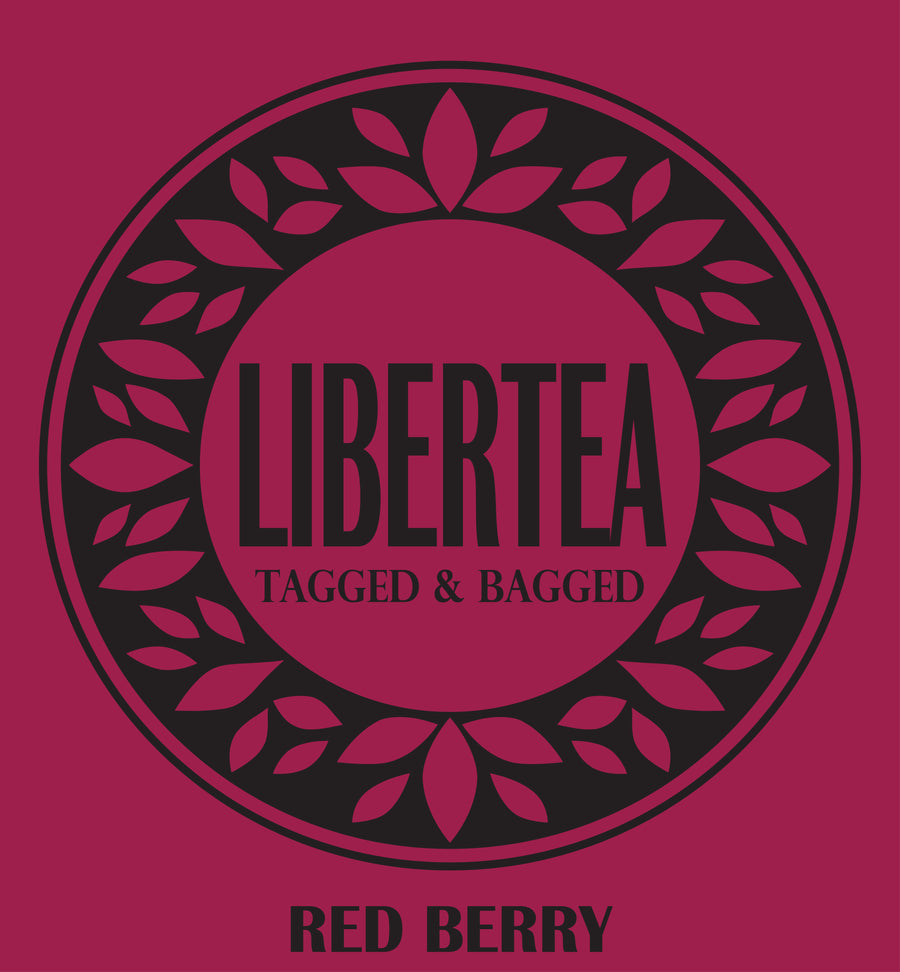Red Berry x 100 Pyramid Teabags