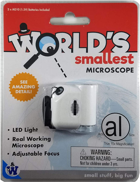 World's Smallest Microscope