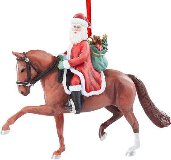 Breyer Horses 2020 Holiday Collection | Dressage Santa Ornament | Model #700653 Dressage Santa Ornament