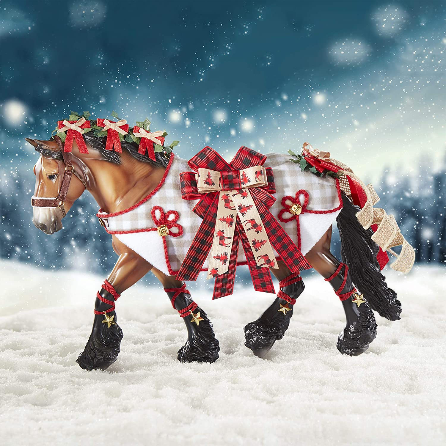 Breyer Horses 2020 Holiday Collection Traditional Series Holiday Hor Hall Trading Company